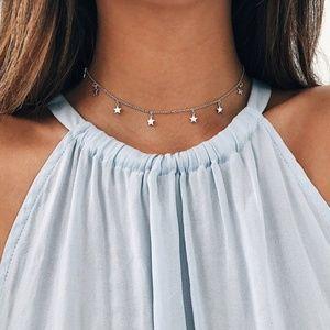 4/$25 Dainty Stars Choker Necklace